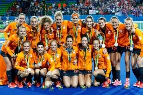 Minke Booij over de Spelen: 'Zij doen het beter dan de voetbalmannen'