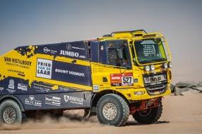 Ook Fried van de Laar Racing Team laat Dakar Rally schieten