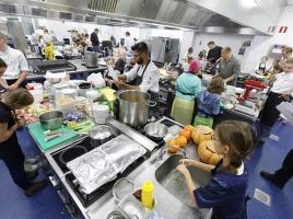 Kinderkookwedstrijd Keukenbazen